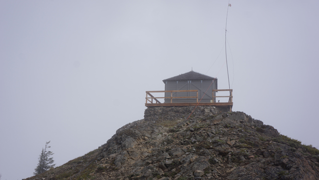 Old fire watchtower