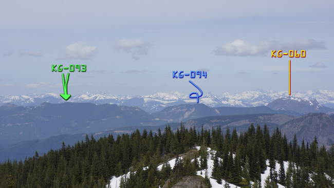 Other peaks in the area