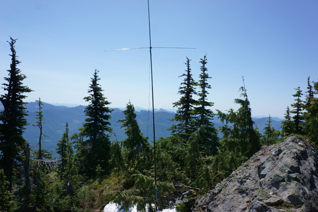 Antenna at the summit
