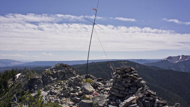 SOTA station on 50 MHz