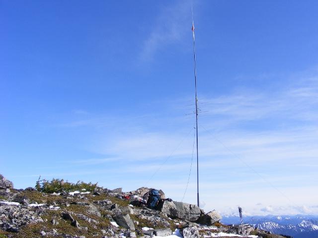 Station on Mt. Fremont