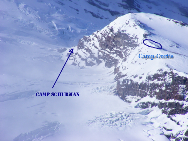 Camp Schurman and Curtis