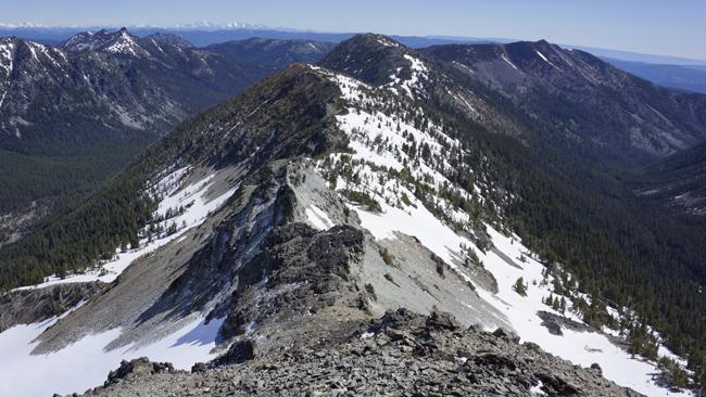 The ridge to Iambic