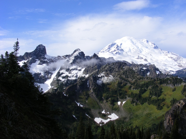 Mt. Rainier & Cowlitz chimeys