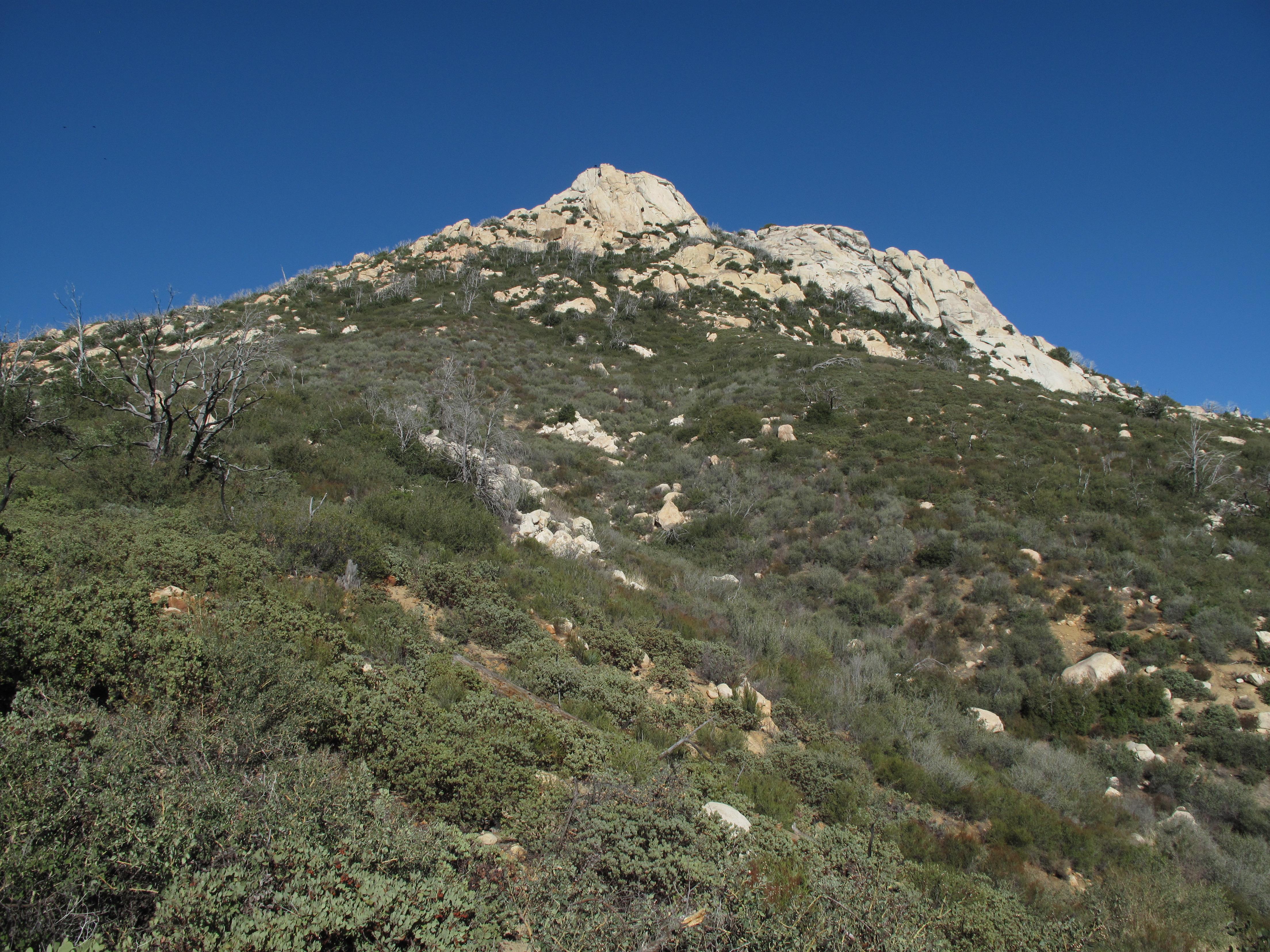 Stonewall Peak Elevation : Sota activation stonewall peak san diego county