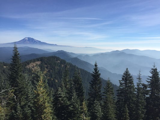 view from little huckleberry