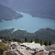 Spada Reservoir from Bald Mtn trail