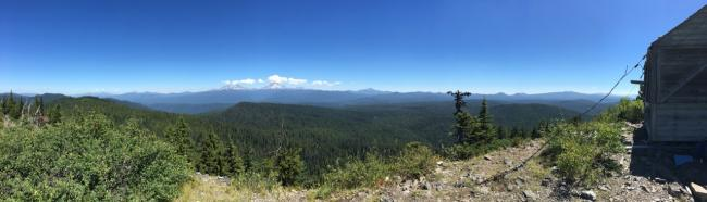 Olallie Mtn Summit Panoramic View