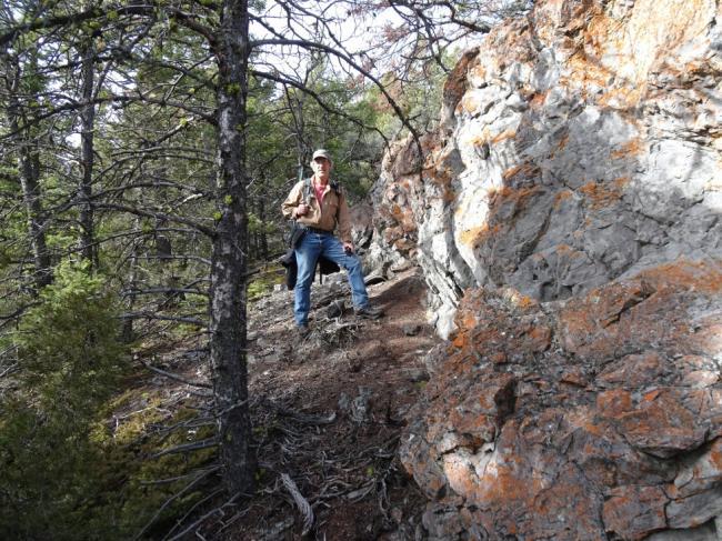 Doherty Ridge - Skirt the cliffs