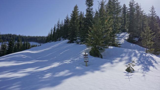 Still snow everywhere