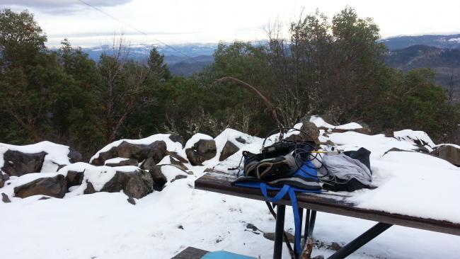 Summit overlook - Roxy Ann Peak