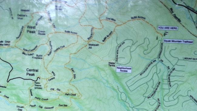 Squak Mountain Trailhead Guide