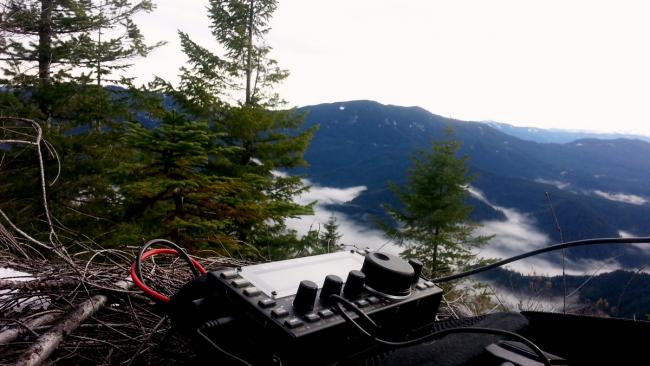 A KX3 sort of view from Wanderers Peak