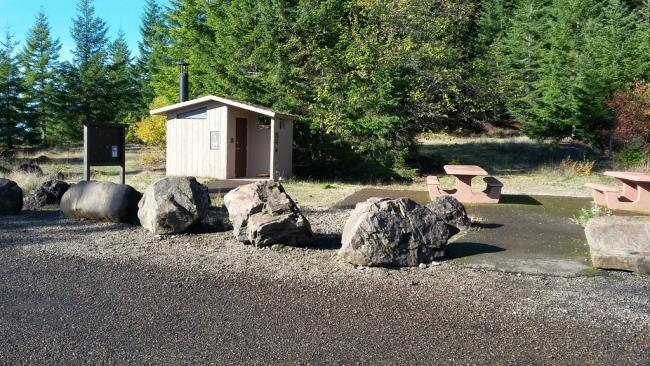 Parking and Picnic Area - Sheridan Peak Overlook