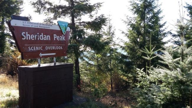 Sheridan Peak Overlook