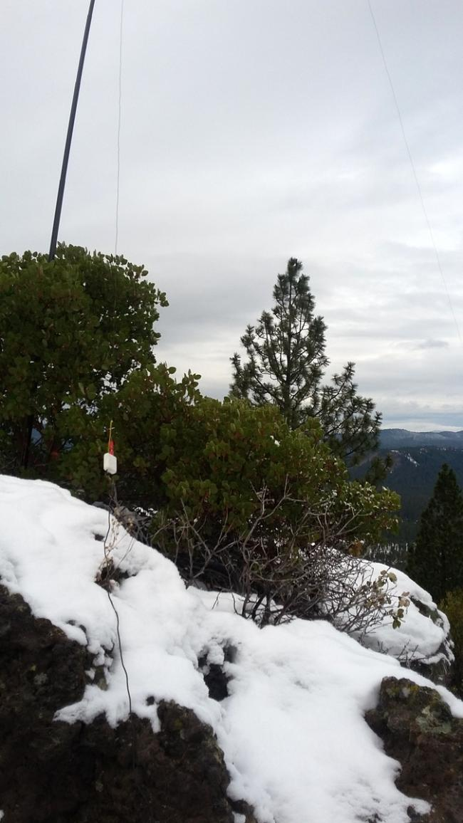 HF Antenna on Pistol Butte