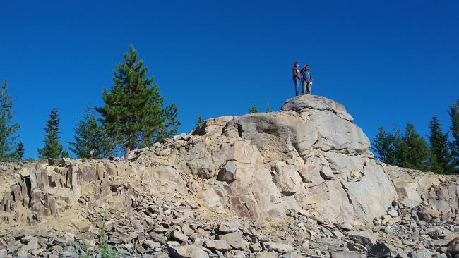 Peak 4816 summit block