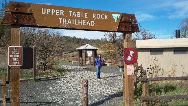Upper Table Rock Trailhead