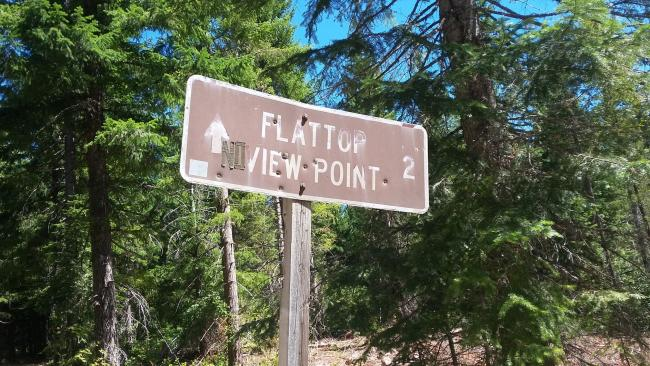 Flattop Sign