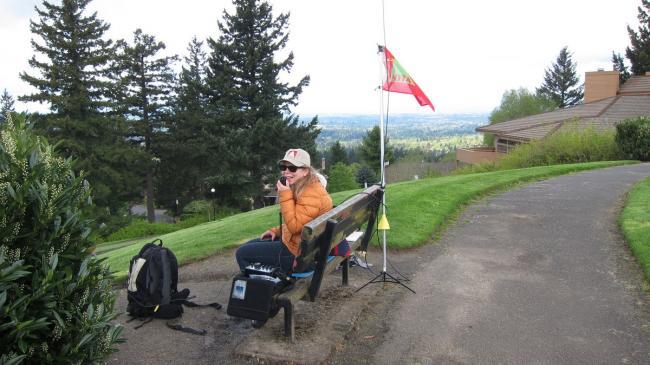 K7NIT on Mount Sylvania