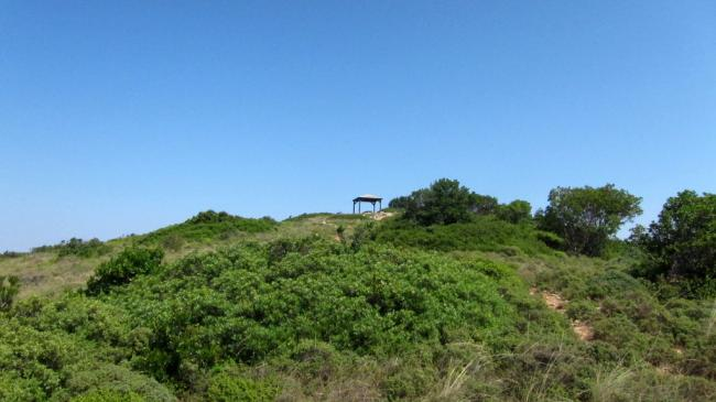 Palouki summit shelter