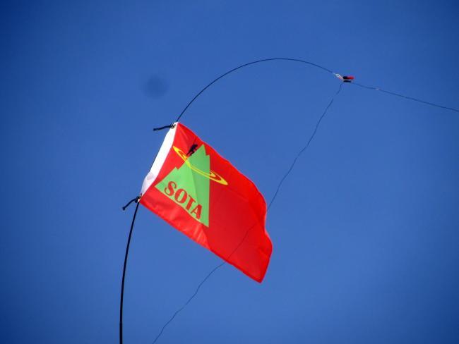 SOTA Flag thanks for Grover-KG7O!