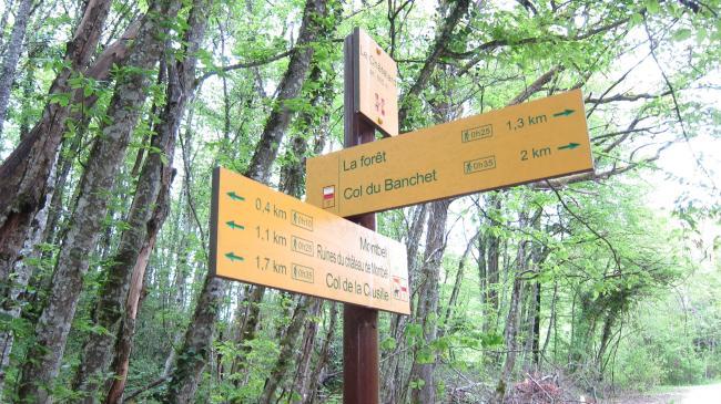 La Forêt Sign