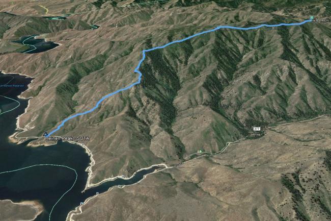Heinen Google Earth track