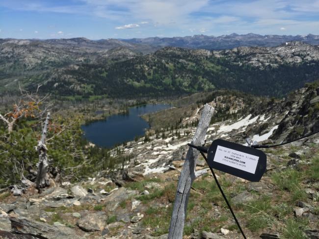 Views NE and Twin Lake