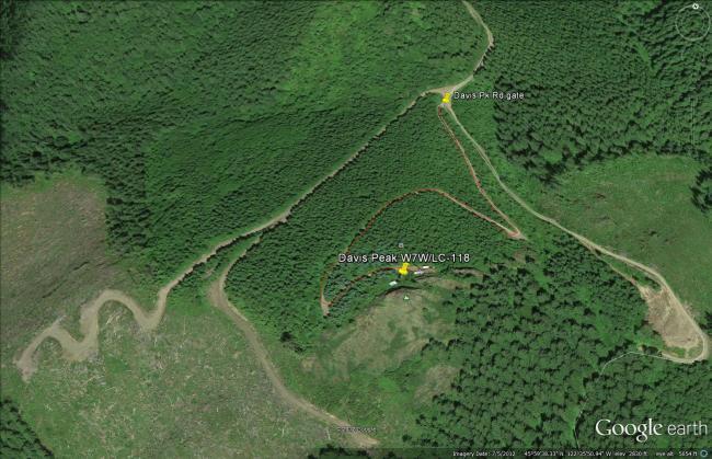 Davis Peak W7W/LC-118