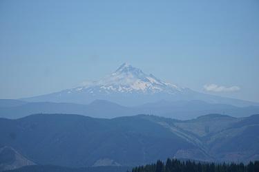 View, Mt. Hood