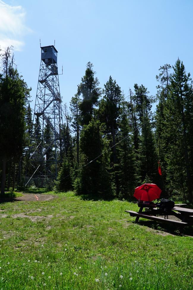 Bishop Mountain Summit