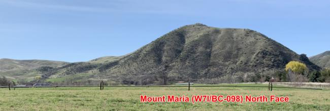 Mount Maria for the north