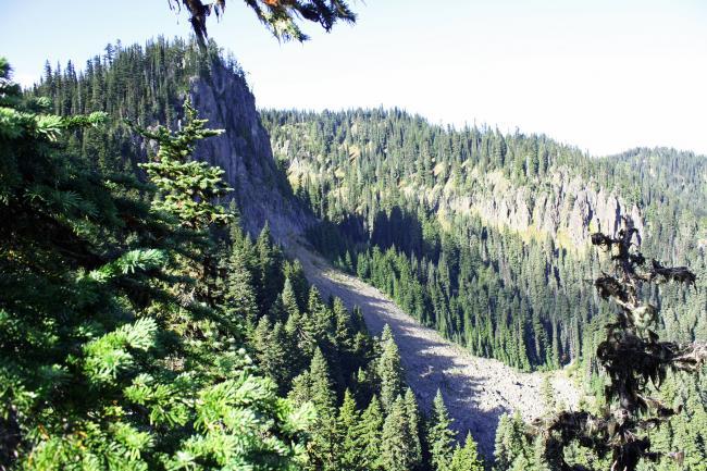 E-W Ridge to Saceface