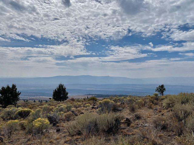 View of Pine Mt from West Butte