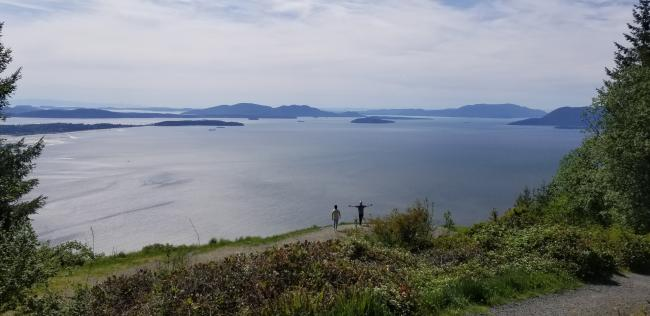 View from Samish Overlook...nice way to end the day