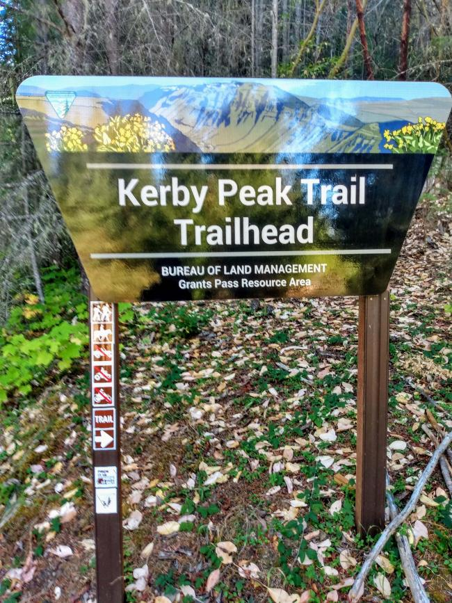 Kerby Peak Trail Head